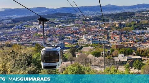 TELEFÉRICO DE GUIMARÃES REABRE HOJE AO PÚBLICO