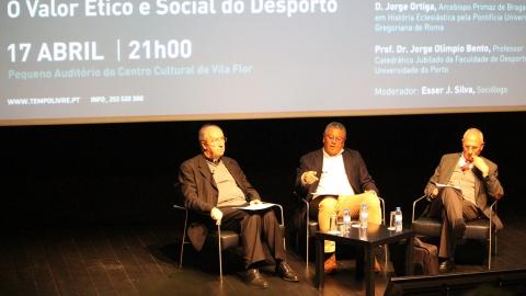 O VALOR ÉTICO E SOCIAL DO DESPORTO DEBATIDOS EM GUIMARÃES