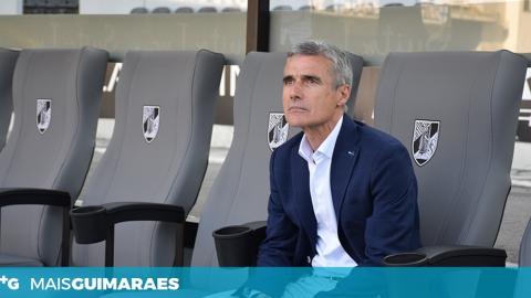 """LUÍS CASTRO SOBRE EUROPA: """"FALTAM 5 JORNADAS E VAMOS TENTAR ATÉ AO FINAL"""""""