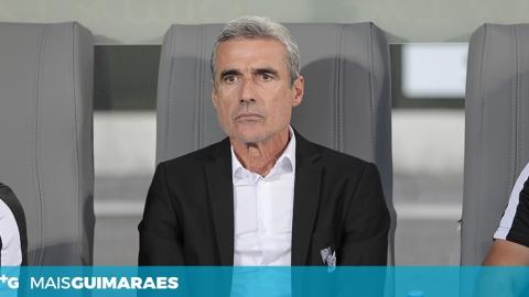 """LUÍS CASTRO: """"OS ADEPTOS MERECEM QUE JOGUEMOS EM CASA"""""""