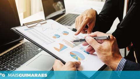GUIMARÃES COM VOLUME DE NEGÓCIOS INFERIOR AOS CONCELHOS VIZINHOS