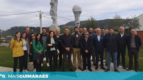 COMITIVA DO PS VISITA FREGUESIAS VIMARANENSES
