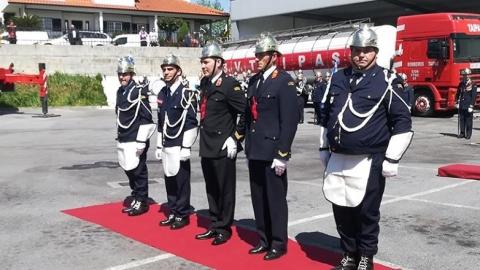 132.º ANIVERSÁRIO DOS BOMBEIROS DAS TAIPAS CELEBRADO ESTA QUARTA-FEIRA