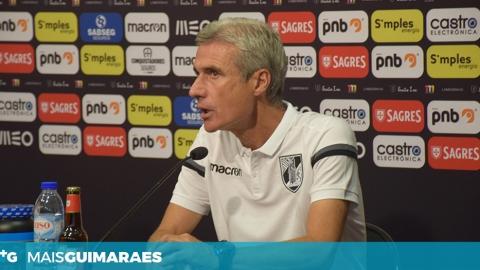 """LUÍS CASTRO: """"ESPERO UM JOGO DE GRAU DE DIFICULDADE ELEVADO"""""""