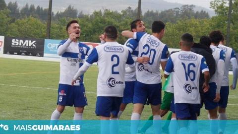 BERÇO SAGRA-SE CAMPEÃO E ASSEGURA SUBIDA AO CAMPEONATO DE PORTUGAL