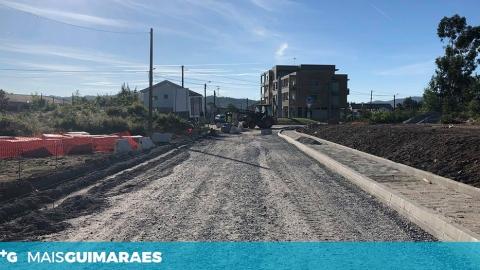 OBRAS PARA NOVO ACESSO A CENTRO ESCOLAR DE PONTE A DECORRER