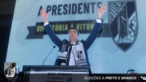 DANIEL RODRIGUES APRESENTOU A CANDIDATURA À PRESIDÊNCIA DO VITÓRIA SPORT CLUBE