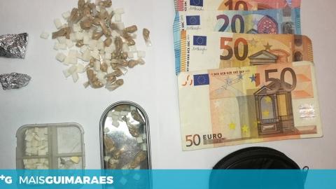 DETIDOS POR TRÁFICO DE ESTUPEFACIENTES EM GUIMARÃES