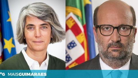 MINISTRA DA CULTURA E MINISTRO DO AMBIENTE EM GUIMARÃES ESTA SEXTA-FEIRA
