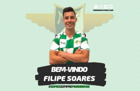 FILIPE SOARES REFORÇA MEIO-CAMPO DO MOREIRENSE