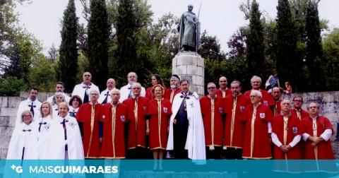 GRÃ ORDEM AFONSINA QUER DIA DE PORTUGAL A 24 DE JUNHO