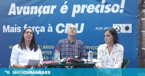A VIMARANENSE ROSA GUIMARÃES SERÁ A NÚMERO DOIS DA CDU PELO DISTRITO DE BRAGA