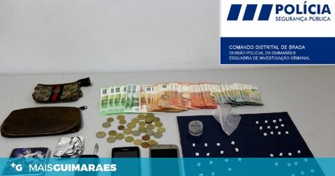 CIDADÃO DETIDO POR TRÁFICO DE ESTUPEFACIENTES