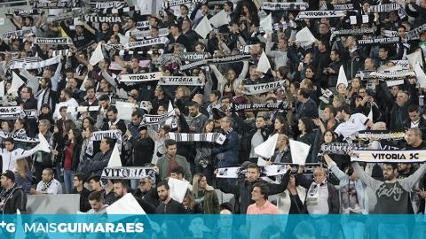 BILHETES PARA JOGO DO VITÓRIA-FCSB ENTRE CINCO A 20 EUROS
