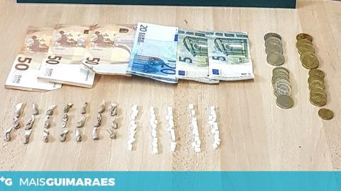 HOMEM DE 42 ANOS DETIDO NA POSSE DE HEROÍNA E COCAÍNA
