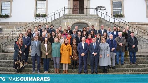 GUIMARÃES PRESIDE REUNIÃO DE REDE DE MUNICÍPIOS PARA A ADAPTAÇÃO LOCAL ÀS ALTERAÇÕES CLIMÁTICAS