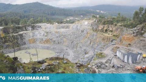 GUIMARÃES TEM ESTRADA CONDICIONADA EM AIRÃO SANTA MARIA DEVIDO À PROXIMIDADE DE PEDREIRA