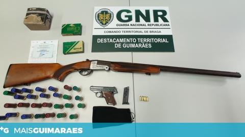 SERZEDELO: HOMEM CONSTITUÍDO ARGUIDO POR POSSE ILEGAL DE ARMA