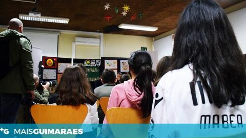 AS ESCOLAS TAMBÉM VÃO À BOLA PARA VER O VITÓRIA-ARSENAL