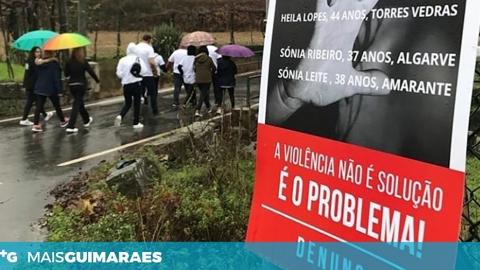 TARJAS E CAMINHADAS PELA ELIMINAÇÃO DA VIOLÊNCIA CONTRA MULHERES