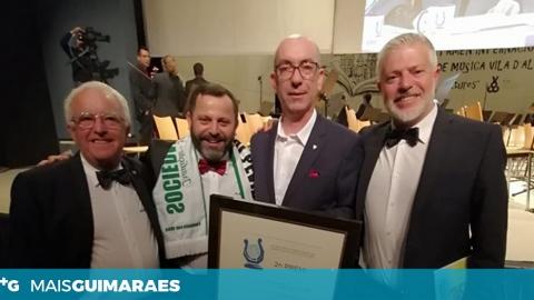 BANDA MUSICAL DE PEVIDÉM VENCE PRÉMIO INTERNACIONAL