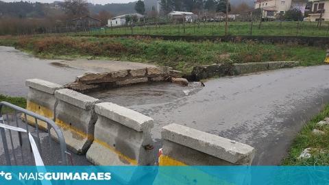 S. TORCATO: RUA FRANCA CORTADA AO TRÂNSITO DESDE SÁBADO E SEM DATA PREVISTA DE REABERTURA