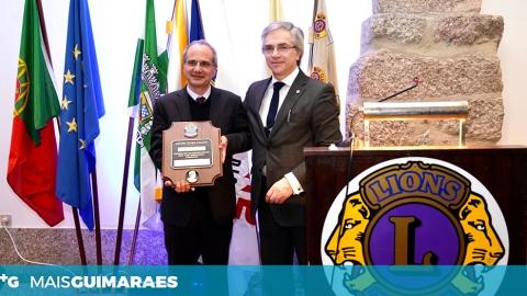 """DOMINGOS BRAGANÇA HOMENAGEADO COM A """"MAIS ALTA CONDECORAÇÃO"""" PELO LIONS"""