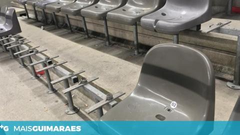 750 CADEIRAS PARTIDAS APÓS O VITÓRIA-FC PORTO