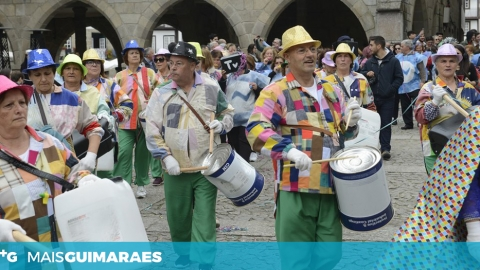 """AS RUAS DE GUIMARÃES VÃO SER PALCO DE UM """"CARNAVAL INTERGERACIONAL"""""""