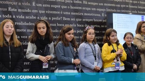 CONCURSO NACIONAL DE LEITURA: ALUNOS DE GUIMARÃES APURADOS PARA FASE INTERMUNICIPAL
