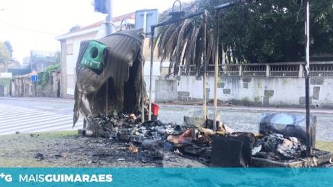 INCÊNDIO EM ECOPONTOS EM CREIXOMIL