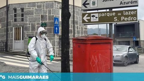 Freguesias têm sido alvo de ações de limpeza e desinfeção do espaço público