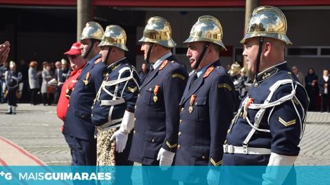 CELEBRAÇÕES DO 143.º ANIVERSÁRIO DOS BOMBEIROS DE GUIMARÃES CANCELADAS