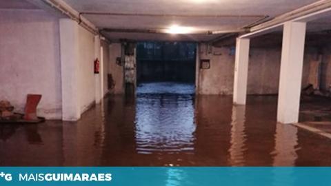 Chuva e granizo provocaram inundações pelo concelho