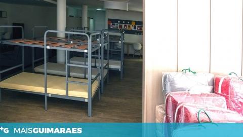 Já está em funcionamento o espaço de alojamento para pessoas em situação de sem abrigo