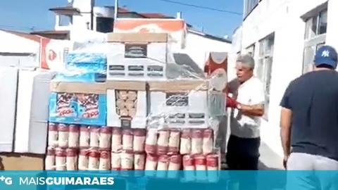 Junta de Ponte distribui alimentos e equipamentos de proteção