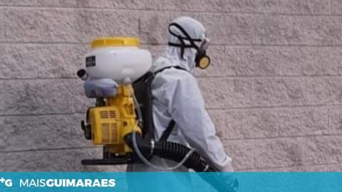 Empresa vimaranense oferece serviço de desinfeção a profissionais de saúde do concelho