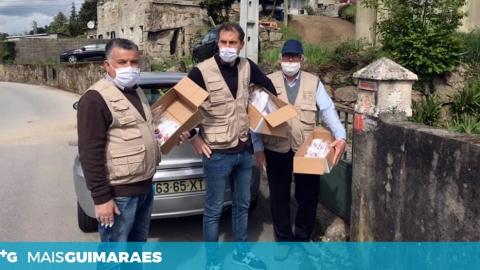 Covid-19: União de Freguesias de Conde e Gandarela distribui 'kits' pela população