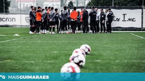 Covid-19: Jogadores do Vitória recuperados voltaram a integrar os treinos