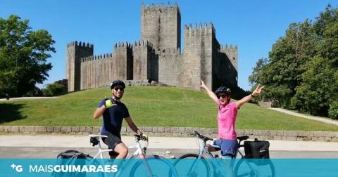 Do Berço para Portugal: Liliana e Nuno vão percorrer o país de bicicleta
