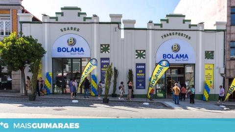 Bolama inaugurou nova loja na Av. Conde Margaride (PUB)