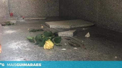 Campa alvo de vandalismo no cemitério da Atouguia