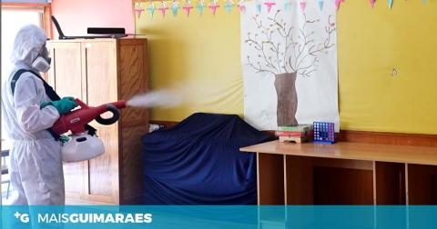 Autarquia promove desinfecção dos estabelecimentos de ensino com pré-escolar