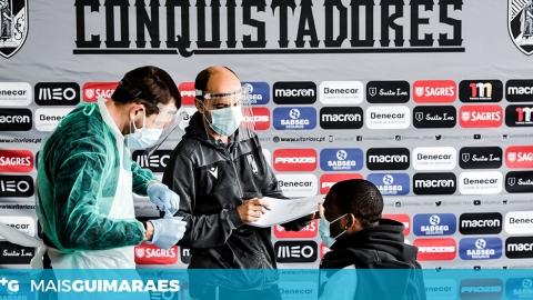 Covid-19: toda a estrutura do futebol profissional do Vitória realizou testes de despistagem
