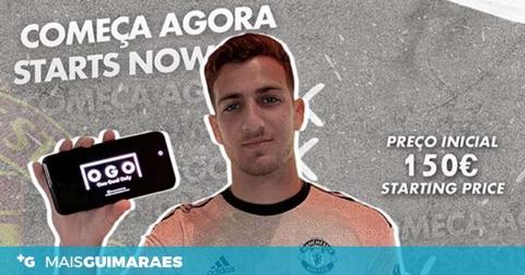 Diogo Dalot leiloou camisola do Man Utd e doou 520 euros ao Rotary Club de Guimarães