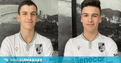 Vitória: contrato profissional e cláusula de 30 milhões para João Pereira e Gonçalo Nogueira